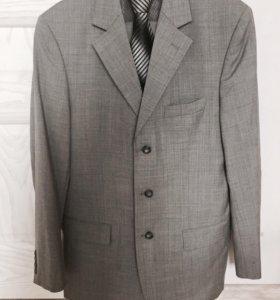 Silver костюм + галстук