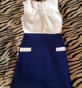 Зимний пуховик (новый) и платье (новое)
