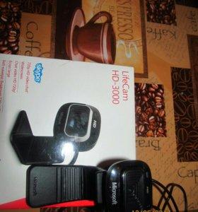 Веб- камера microsoft life cam hd 3000
