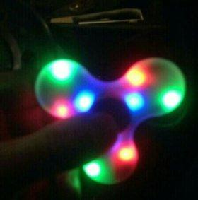 ♣Супер спинер с подсветкой и bluetooth музыкой