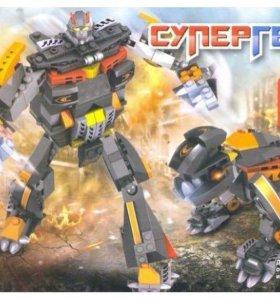Робот конструктор 2 в 1