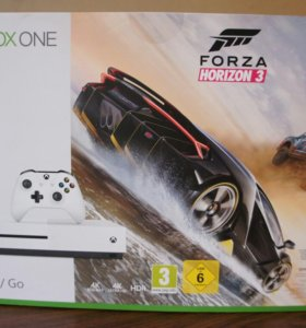 Xbox One S 500 Гб + Forza Horizon 3