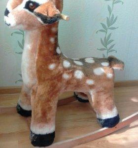Игрушка-качалка олененок