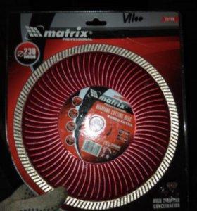 Алмазный диск Matrix Extra, 230 х 22.2 мм