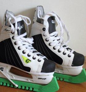 Коньки хоккейные р-33