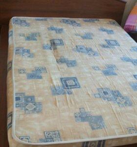 Кровать140/180 с матрасом