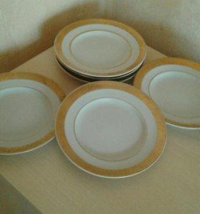 Тарелки десертные
