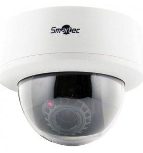 Купольная видеокамера smartec для видеонаблюдения