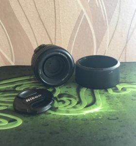 Объектив Nikon Nikkor 50 mm 1.8 G