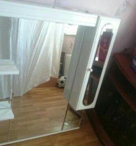Раковина+зеркало со шкафчиком