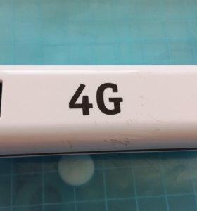 4G модем с безлимитным интернетом.