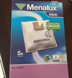 Новые мешки для пылесоса Menalux 4900 5 шт для LG