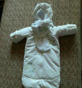 Конверт на выписку малыша
