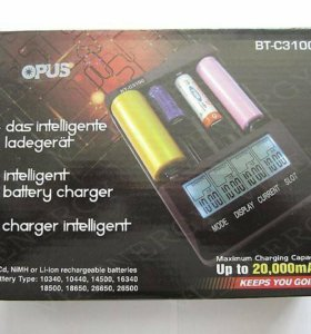 Всеядная зарядка для аккумуляторов NiCd/NiMH/Li-io