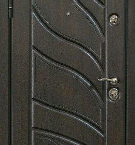 Входная дверь мдф шпонированная