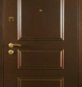 Входная дверь 3д металлофиленка