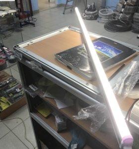 Светильник светодиодный 16Вт, алюм.