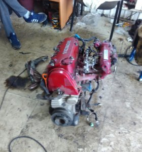 Мотор D16B