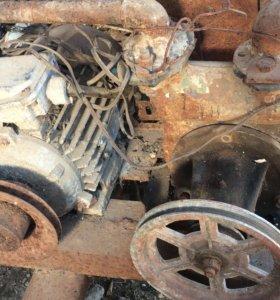 Помпа с электродвигателем 220 в