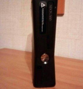 Прошитый Xbox 360+жест.диск на 500гб