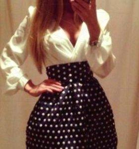 Платье с подкладом