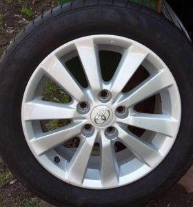 Диски Toyota R16 4шт. Без резины