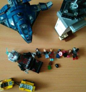 Лего, супергерои, поклонникам MARVEL