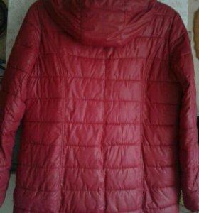 Утеплённая куртка 48-50р-р
