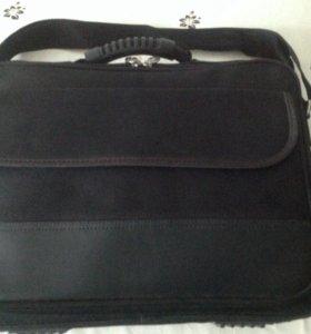 Папка-сумка для ноутбука (тканевая)