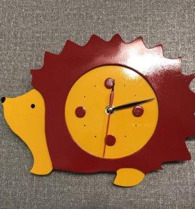 Ёжик - часы ручной работы