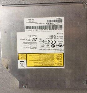 DVD rw привод ноутбука в рабочем состоянии