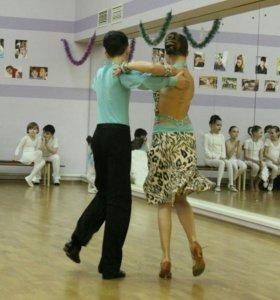 Платье для бальных танцев латина