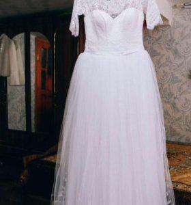 Свадебное платье р. 40-44