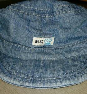 Кепка джинсовая