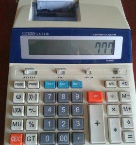 Калькулятор печатающий Citizen CX -121 ll