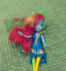 Пони кукла и фигурка, пони игрушки детские