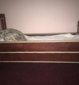 Кровать ручной работы