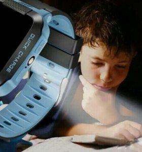 Умные детские часы GPS Фонарик Smart Baby WatchY21