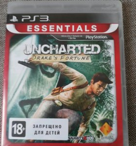 Uncharted Диск на ps3