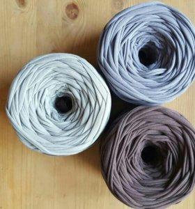 Пряжа трикотажная цвета лимитед эдишн №1,№2, серый