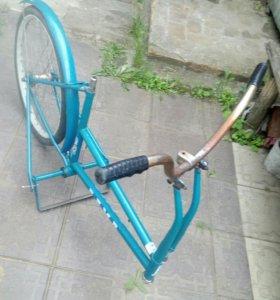 Культиватор на базе велосипеда