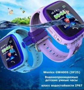 Водонепроницаемые Умные детские часы Q100 GPS df25