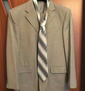 Костюм брюки галстук