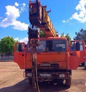 Автокран Ивановец 25 т