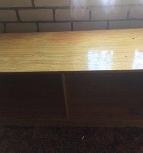 Шкаф и тумба с зеркалами