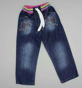 Новые джинсы на девочку (Турция)