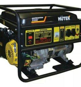 Генератор бензиновый HUTER 6500 L 5.5 кВт в аренду
