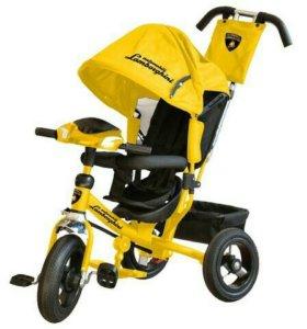 Новые. Велосипед Lamborghini желтый L2 12/10 кол.