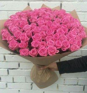 101 Роза. Букет/Цветы/51