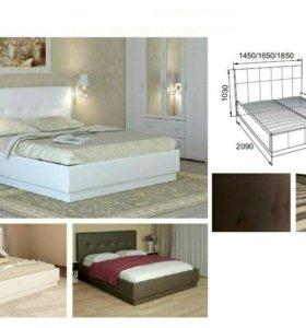Кровать интерьерная Локаррно